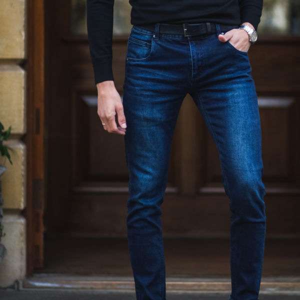 CLIFTON Jeans Black SUBSEQUENT IMAGE 5 - Clifton Slim-fit Jeans Blue