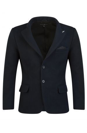 Made in the UK Wool Blazer Navy 300x457 - Ascot Blazer Grey