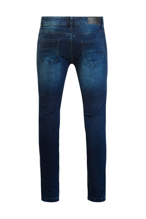 Slim fit Jeans Blue Back - Clifton Slim-fit Jeans Blue
