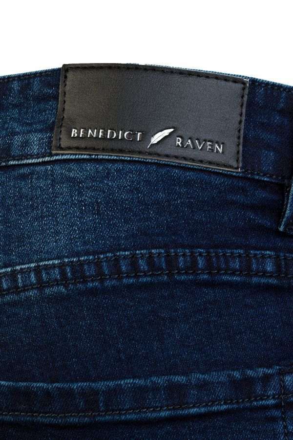 Slim fit Jeans Blue Detail - Clifton Slim-fit Jeans Blue