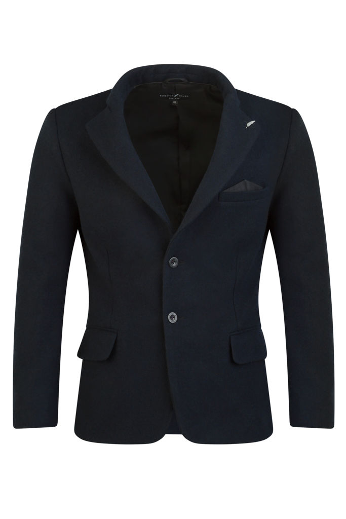 Made in the UK Navy Wool Blazer 683x1024 - Transition Your Style From Winter To Spring