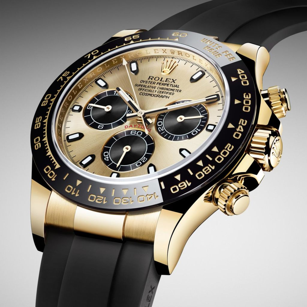 rolex daytona 1024x1024 - Five Luxurious Watches Suitable For The High-flying Gentlemen