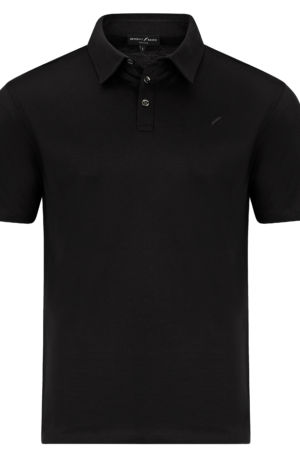 Monaco Front Black 300x457 - Monaco Polo Shirt Black