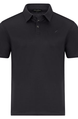 Monaco Front Grey 300x457 - Monaco Polo Shirt Grey