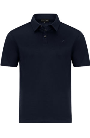 Monaco Front Navy rescaled 300x457 - Monaco Polo Shirt Navy
