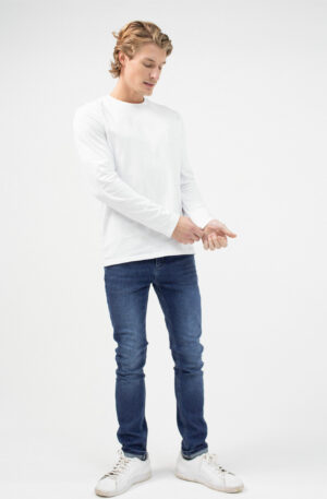 Lounge Long Sleeved T-Shirt White, Loungewear, Reiss Long Sleeve T-Shirt,