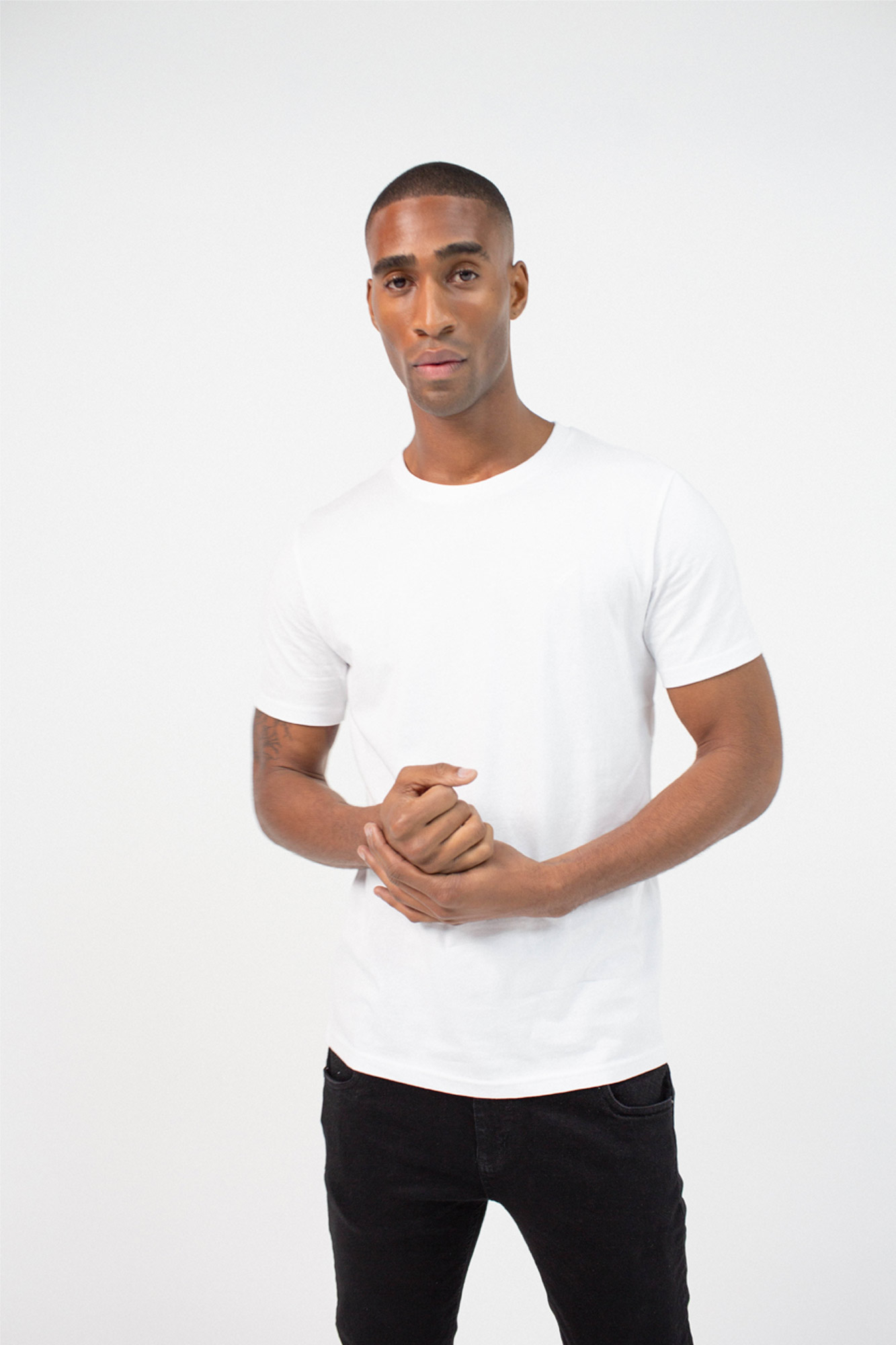 BenedictRaven Studio 0158 2 - Lounge T-Shirt White