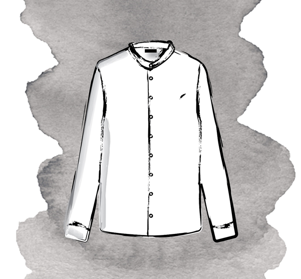 image 1 - The History of the Grandad Collar Shirt: How did it become a timeless staple?