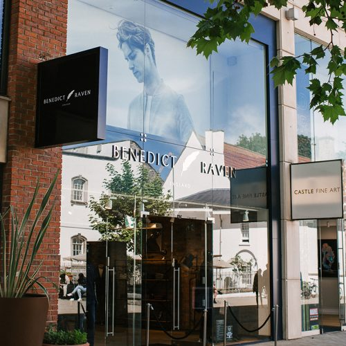 BenedictRaven CabotCircusBLOG1 500x500 - Benedict Raven Land In Their Hometown: Flagship Store Opens In Bristol's Cabot Circus
